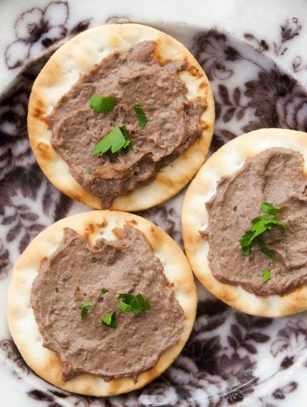 cognac chicken liver pate recipe without alcohol