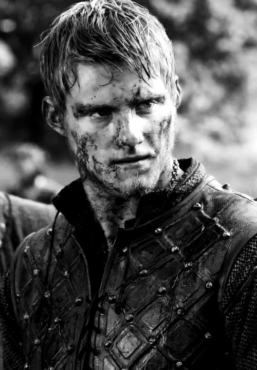 Björn Järnsida (Ironside), was a Viking raiding France in the 9th century. According to the old sagas he was the son of  Ragnar Lodbroks and participated in Ragnars  siege of Paris. The sagas also say that Björn got the name Ironside because he was never injured in battle. (Picture from the TV show Vikings).