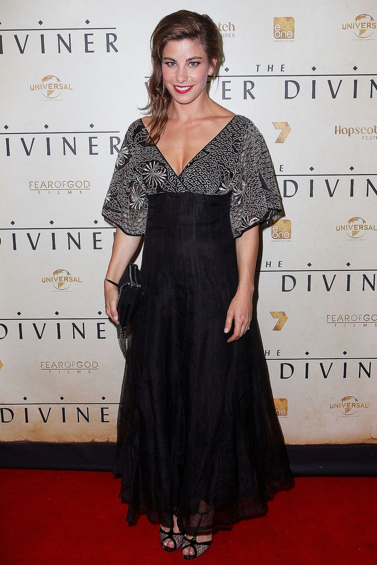 Brooke Satchwell at the World Premiere of The Water Diviner, 2014.