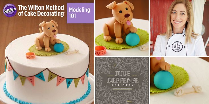 The Wilton Method?: Modelling 101 - Puppies & Toys, with Julie Deffense JUST POSTED: Wilton Method Workshop: Modelling 101 - USF Culinary Innovation Lab, Lakewood Ranch, Sarasota, FL August 31st 2017 5:30-8pm.