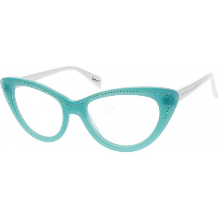 138 best Vintage, Blue, Cat Eye, Eyeglasses Frames images on ...
