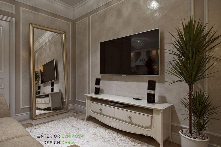 Квартира 40 кв.м. в стиле прованс | Interior design Daria Elnikova