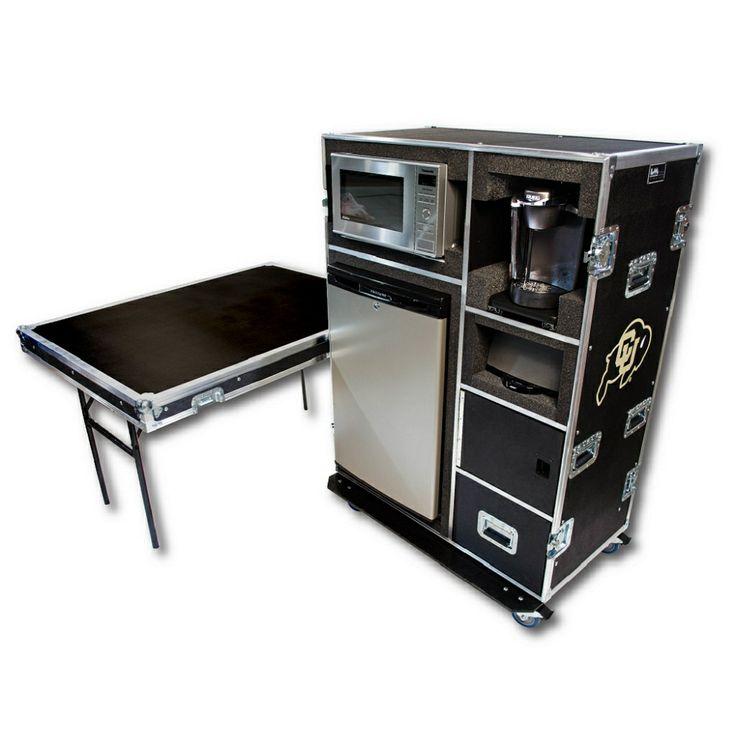 Kitchen in a case