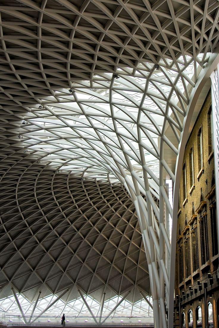 King's Cross Station. John McAslan. By Kevin Bleasdale. repinned by www.smg-treppen.de #smgtreppe
