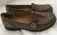 WHITEMT Women's Judo Stone Moccasins, Grey,  Size 6 1/2M Pre-owned