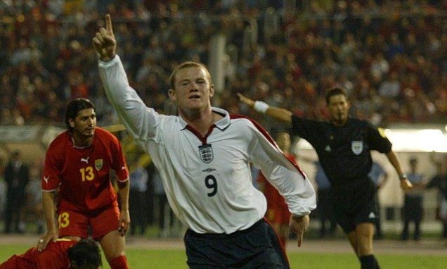 Wayne Rooney: All 53 goals for England | Daily Mail Online