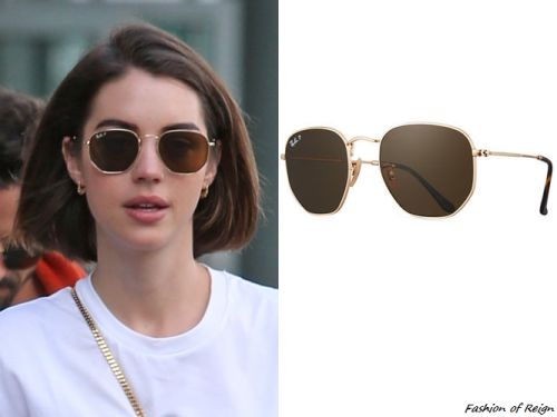 2b13ce6f22 Image result for brown ray bans hexagonal outfit