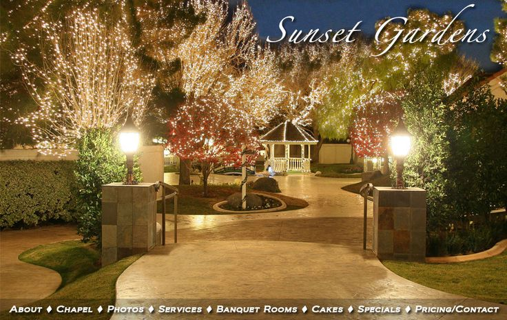 Gorgeous Wedding Venue Option I Absolutely Loooove It 3 Sunset Gardens Las Vegas