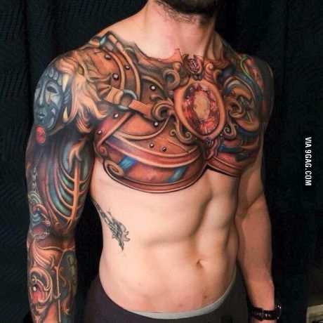 Anybody knows this Style of tattoo? What kind of warrior is this? Pls help me 9GAG family