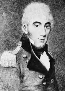 Colonel David Collins, Advocate General of New South Wales (3 March 1756 – 24 March 1810) was the first Lieutenant Governor of the Colony of Van Diemens Land, founded in 1804, which in 1901 became the state of Tasmania in the Commonwealth of Australia.