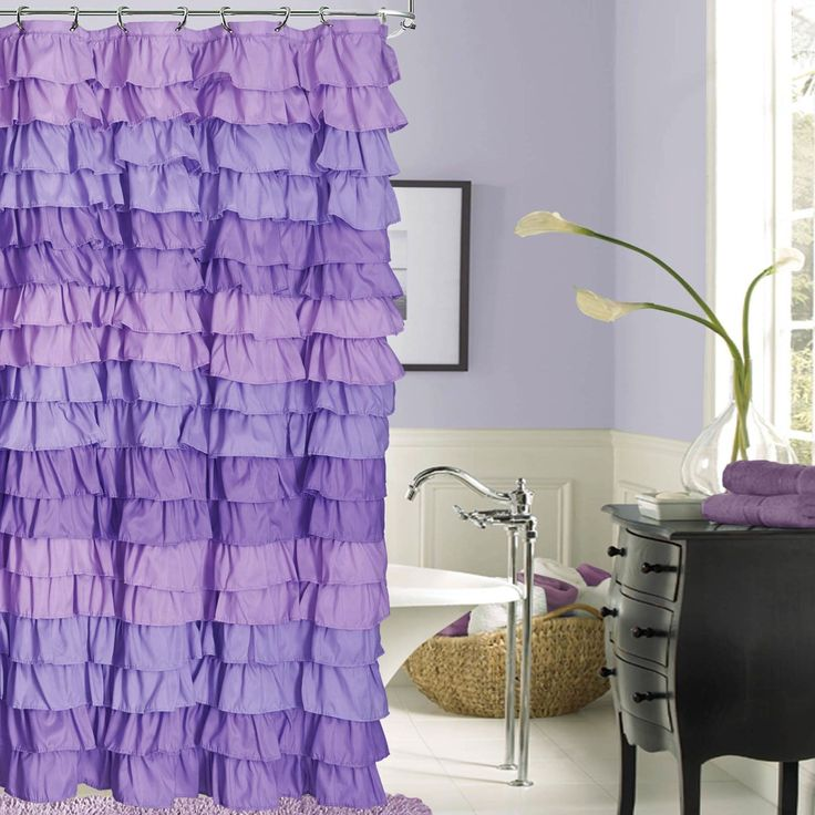 Light Purple Shower Curtain