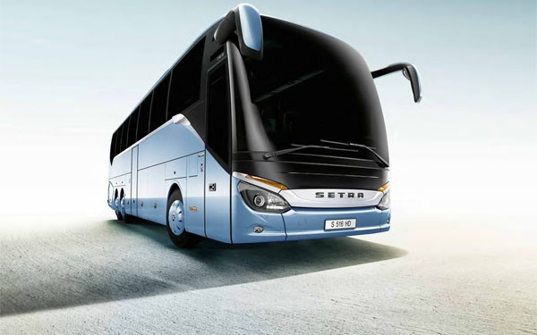 Download The New Setra 500 Series Luxury Coach HD