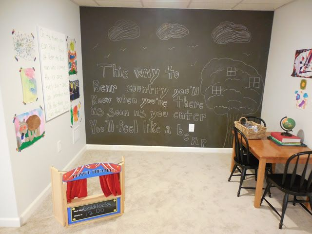 Our Basement Kid's Nook Reveal!