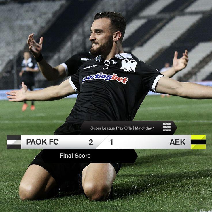 #PAOKAEK #FinalScore #PAOK #Toumba #win #superleague #playoffs