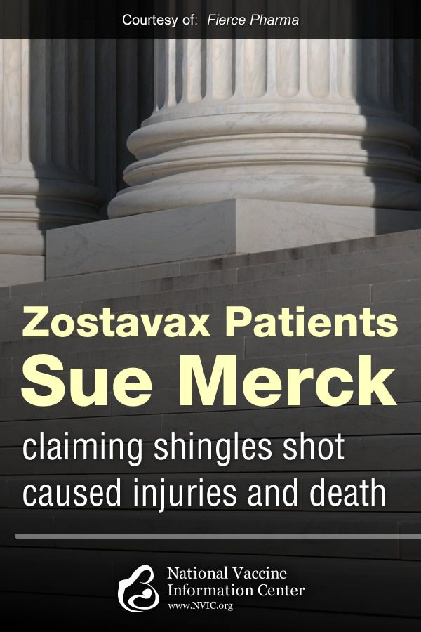 Zostavax patients sue Merck, claiming shingles shot caused injuries and death
