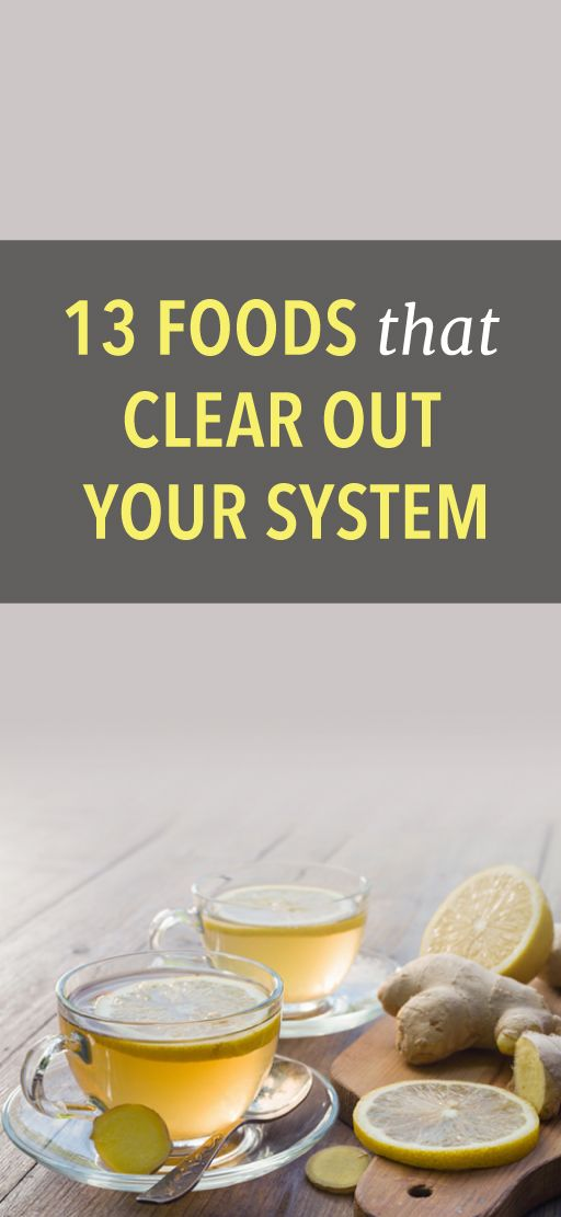 13 foods that flush out your system #detox #health