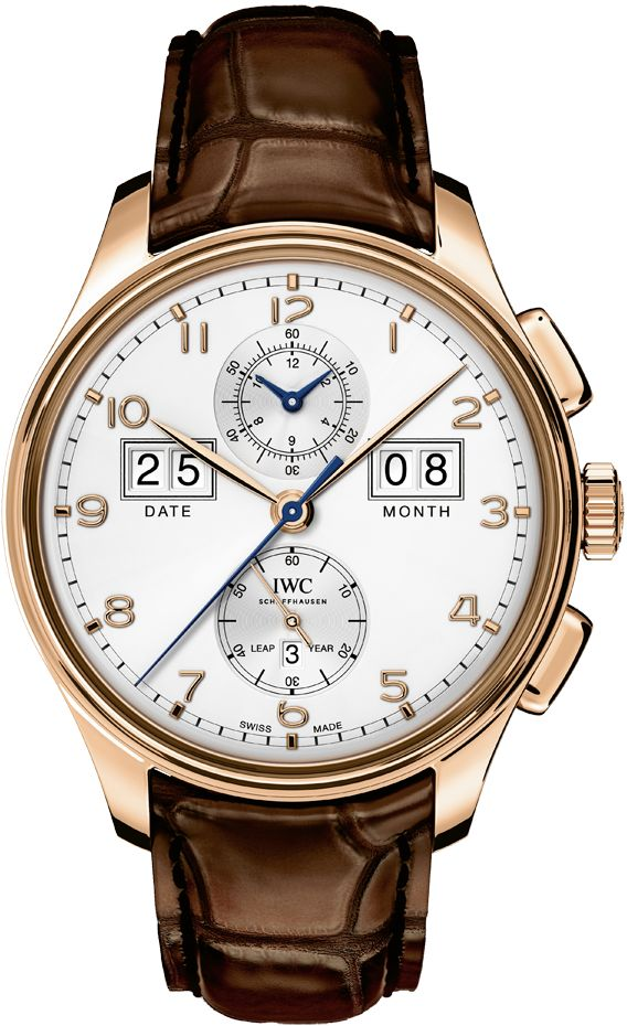 """The Watch Quote: The IWC Portugieser Perpetual Calendar Digital Date-Month Edition """"75th aAnniversary"""" watch - Manufacturing expertise packed into 45 millimetres"""