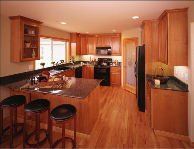 Cabinets The Same Color As The Floor Kitchen Ideas