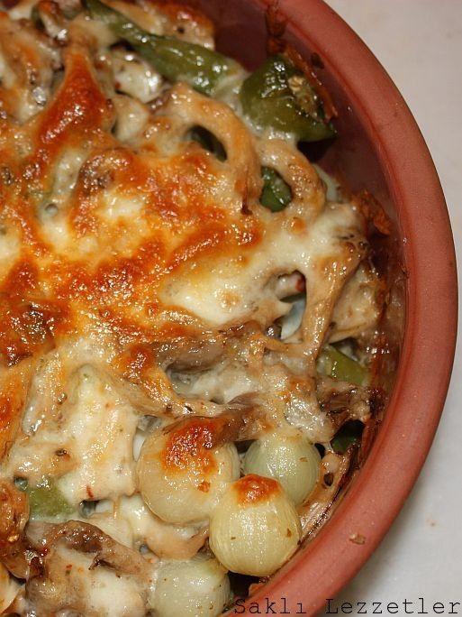 mushroom stew - Güveç mantar