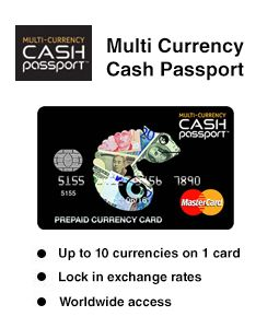 Multi Currency Cash Passport