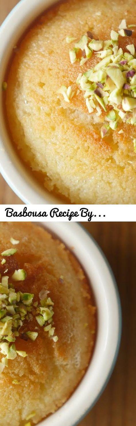 Basbousa Recipe By Food Fusion... Tags: food fusion, food fusion recipes, food fusion recipe, basbousa, basbousa recipe, basbousa recipe by food fusion, basbousa cake, basbousa recipe with coconut, basbousa recipe with condensed milk, basbousa recipe with cream, basbousa by food fusion, basbousa by food fusion