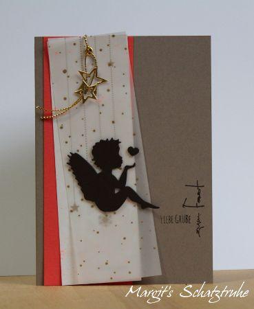 weihnachtskarte mit engel aus der renke schmiede renke. Black Bedroom Furniture Sets. Home Design Ideas