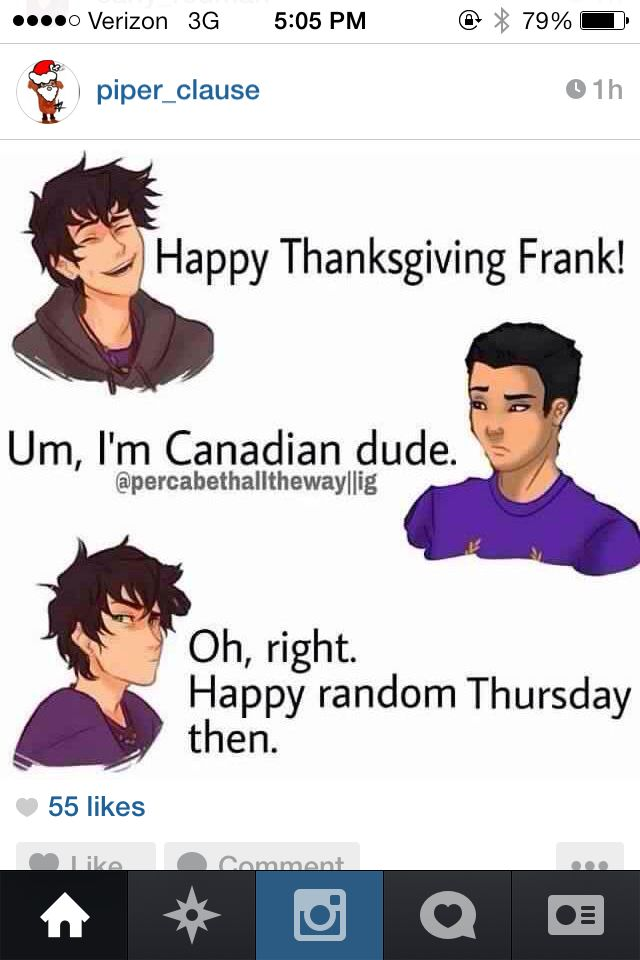 Why does no one say to Canadians Happy Thanks Giving when it is the Canadian thanks giving?