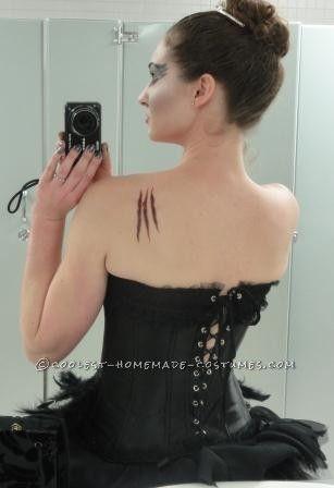 Black Swan Costume Modeled on Rodarte ...This website is the Pinterest of birthday cakes