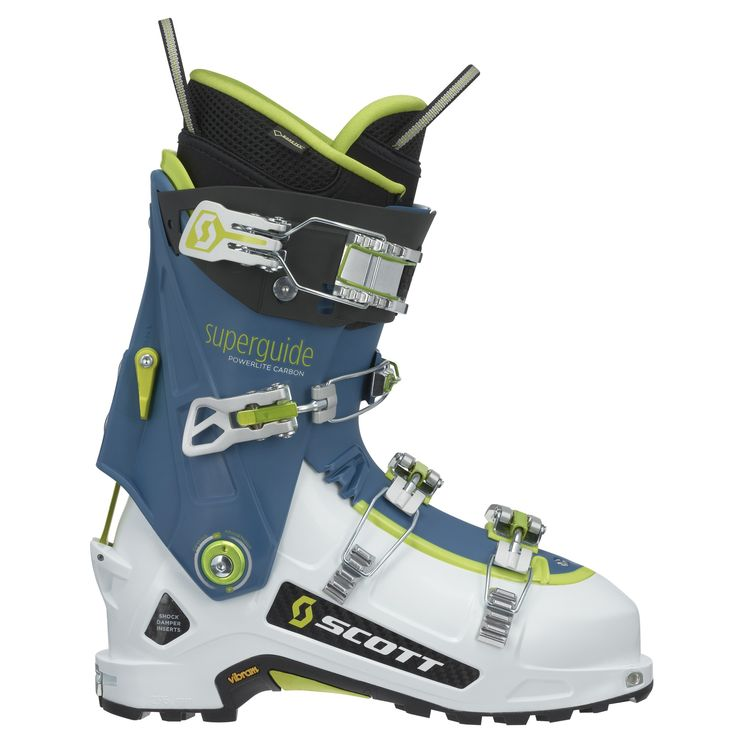 The SCOTT Superguide Carbon is the next step of ski boot evolution.
