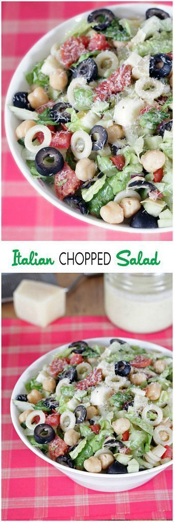 All the Italian flavors you love packed into one hearty, delicious salad! cinnamonspiceandeverythingnice.com