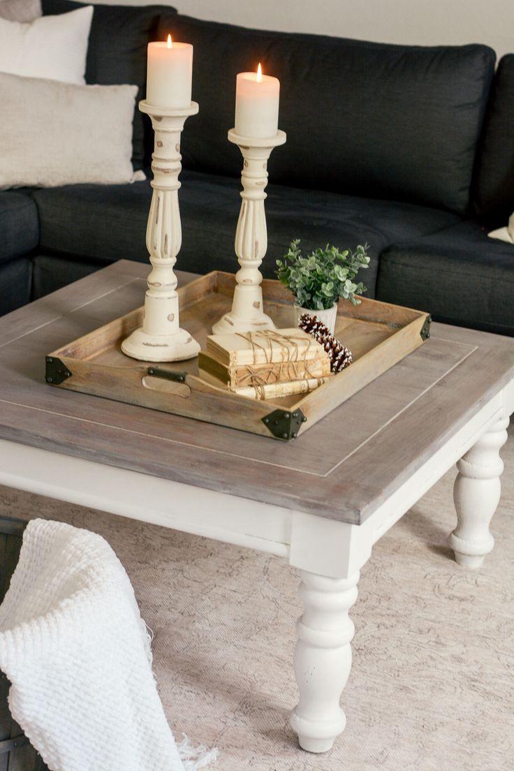 Chunky Farmhouse Coffee Table Diy Farmhouse Coffee Table Coffee Table Farmhouse Rustic Farmhouse Table