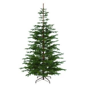 Martha Stewart Living, 8 ft. Indoor Norwegian Spruce Hinged Artificial Christmas Tree, 9318500610 at The Home Depot - Mobile