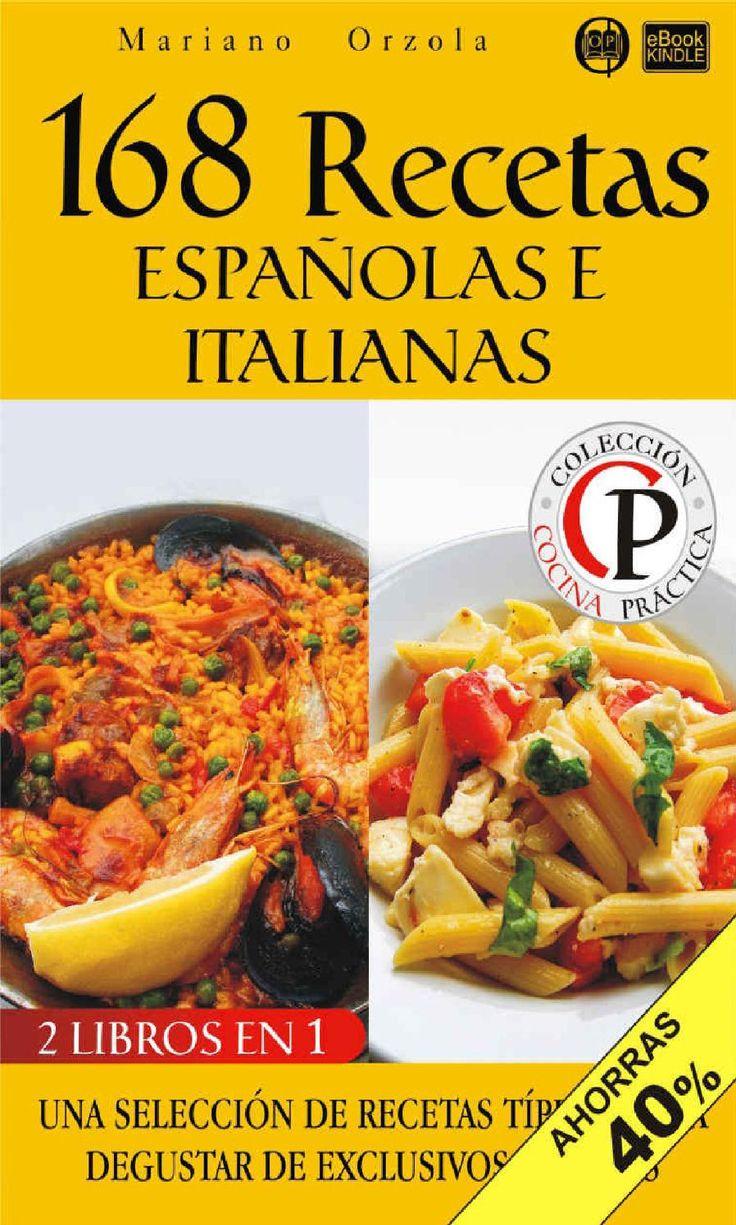 168 recetas espanolas e italiano