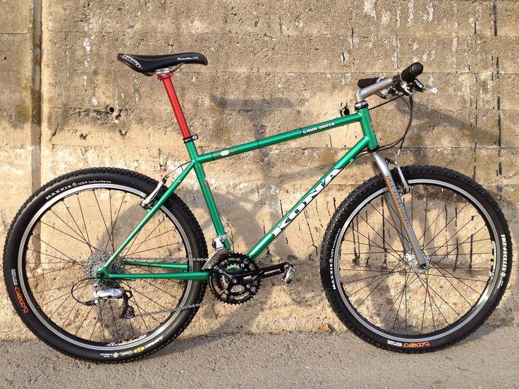 Kona Hardtail Mountain Bikes: 1994 Lava Dome sparkles and rides again