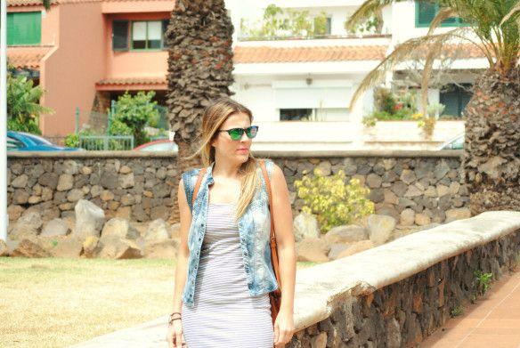 Chaleco vaquero. Pinkmomentsblog Tenerife. Bloggers Canarias.