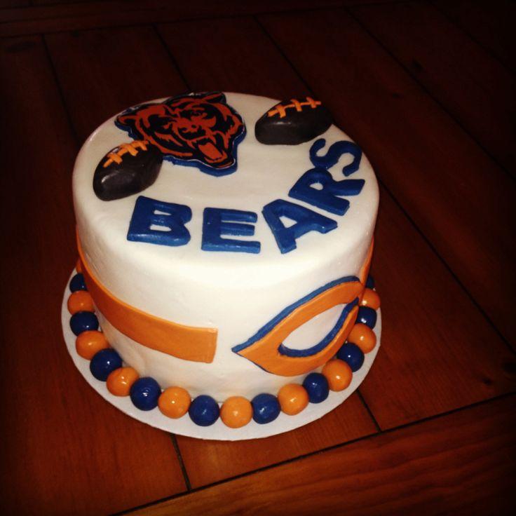 Birthday Celebration Chicago Style: Best 25+ Chicago Bears Cake Ideas On Pinterest