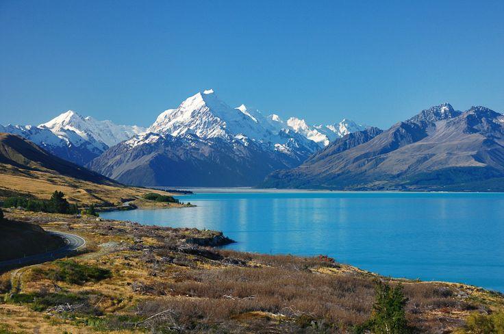 Mount Cook & Lake Pukaki | New Zealand | 2014 http://www.honza-libor.cz/novy-zeland-2014