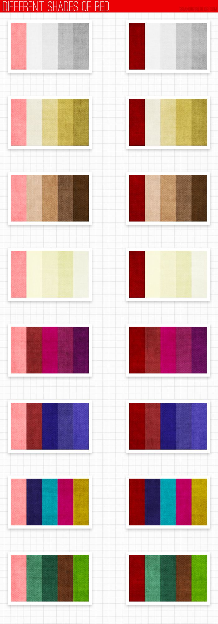 Different Shades Of Red Paint 141 best art: color theory. images on pinterest | color theory