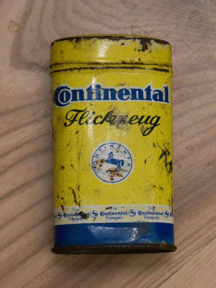 #Continental AG #Promptus #Flickzeug #Fahrradflickzeug 1950 Made in Germany