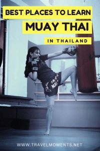 Best Places to learn Muay Thai in Thailand #thailand #muaythai #thaiboxing