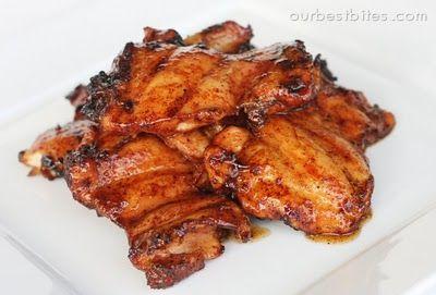 Spicy Honey Chicken by ourbestbites #Chicken #Honey #Spicy
