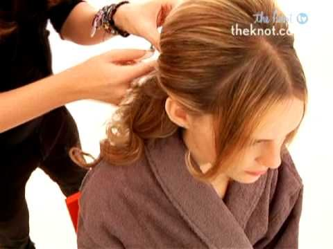 How to Create a Half-Up/Half-Down Wedding Day Hairstyle - The Knot