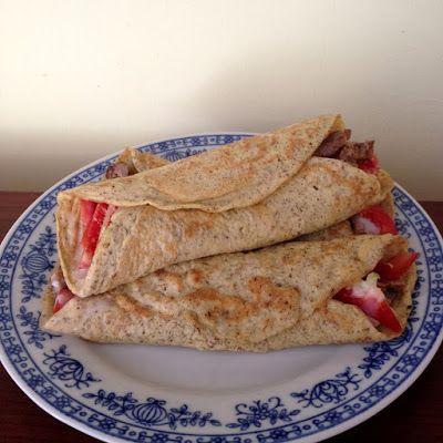 Light paleo burrito recept ~ Éhezésmentes Karcsúság Szafival
