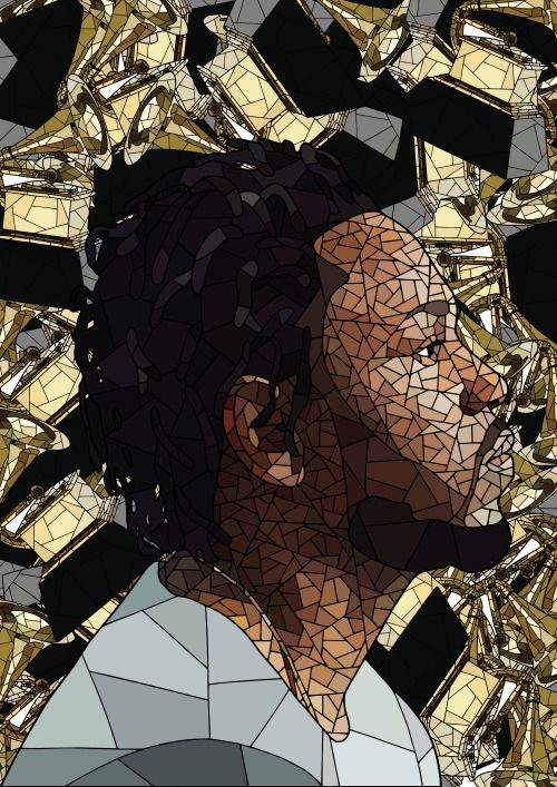 Congrats to Kendrick Lamar for the grammys, you deserved it !Artwork by @shazart