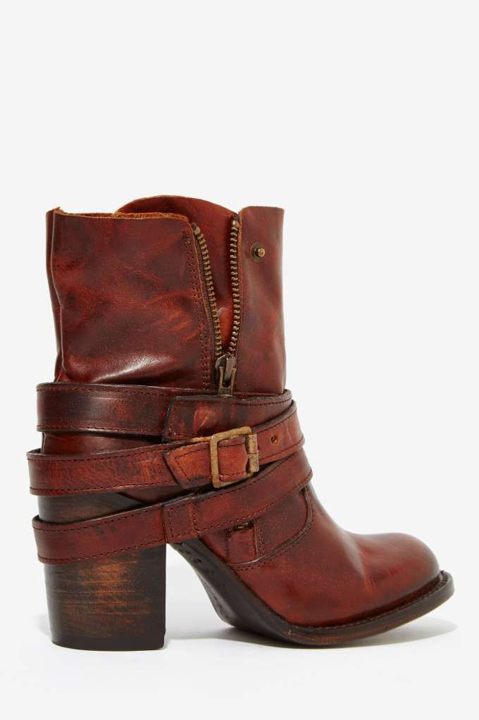 Freebird by Steven Leather Bama Boot - Shoes   Heels   Shoes   All