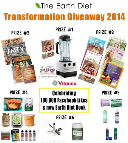 Transformation Giveaway