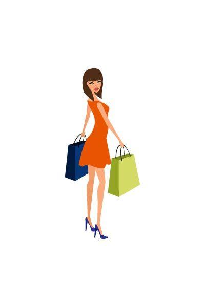 Shopping girl profile vector #shopping # #fashionshopping #girlvector #vectorshopping #vectorshoppinggirl  http://www.vectorvice.com/shopping-girls-vector