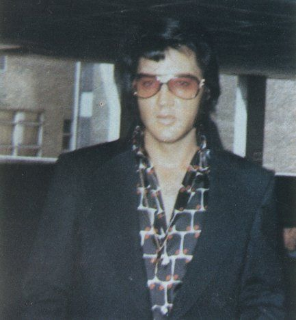 On the hotel parking ramp in Milwaukee, Wisconsin on June 15, 1972