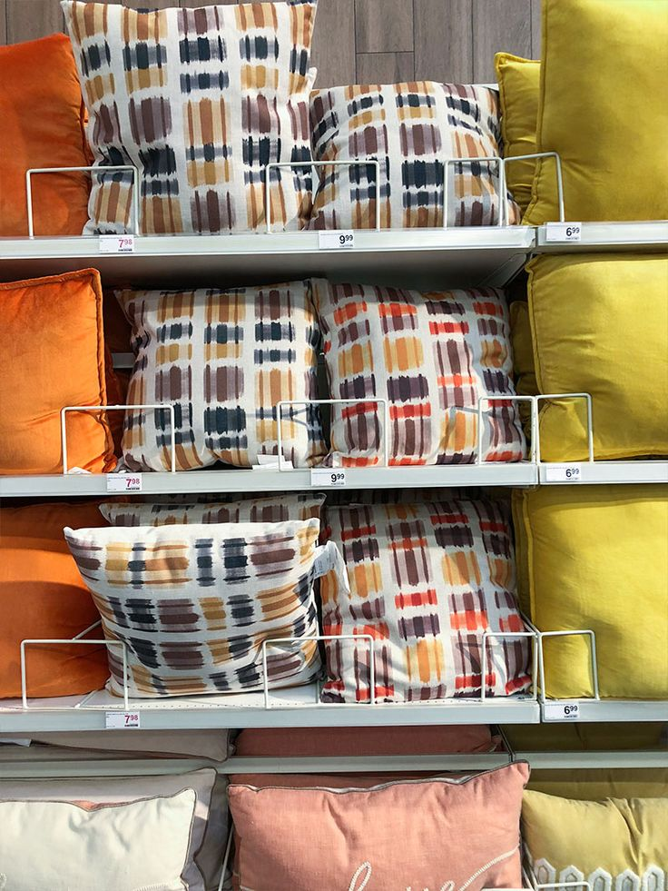 Decor Pillows Orange, Yellow, And Brown. Get Ready For Spring With Bright  And