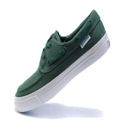 Converse Sea Star OX Verde Bianco Low Top Canvas Scarpe da barca.€33.76